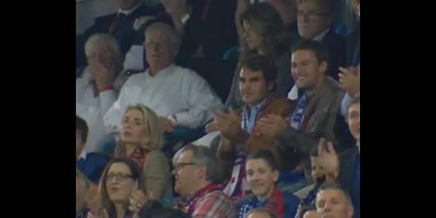 Federer-Luiz, excités à Bâle - La DH