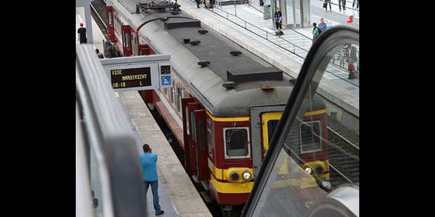 Retards sur la ligne ferroviaire Liège-Namur à la suite d'un accident - La DH
