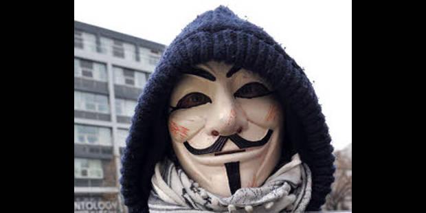 """Anonymous: """"Ce que nous avons appris est affligeant"""" - La DH"""