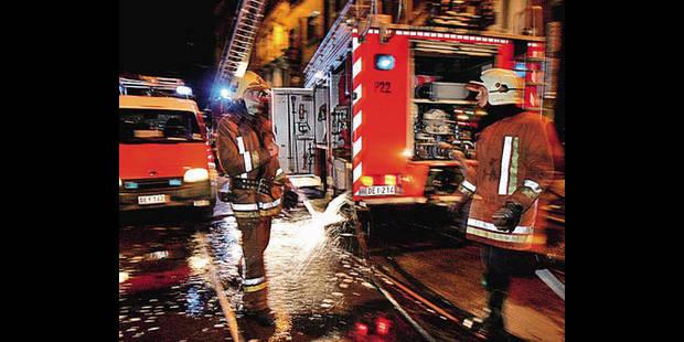 Violent incendie dans une usine de déchets à Seraing - La DH