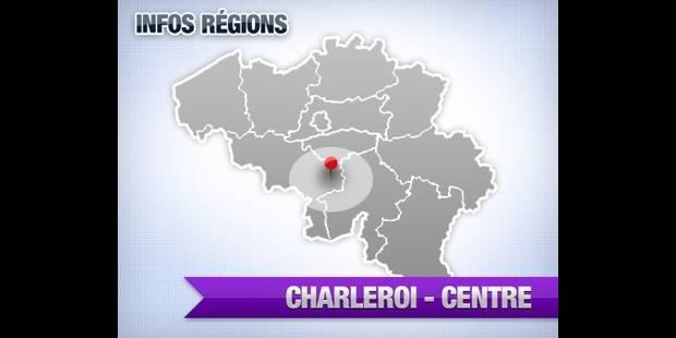 Action d'agents de la Propreté à l'hôtel de ville de Charleroi - La DH