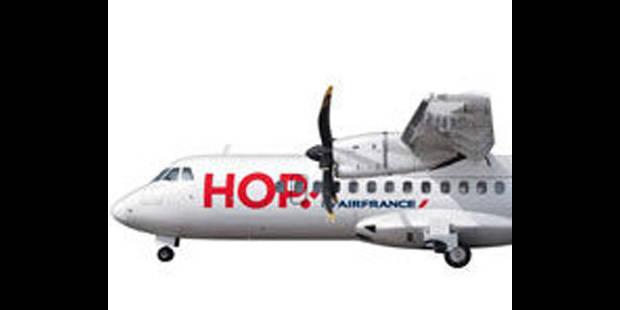 Hop !, la filiale low cost d'Air France atterrit à Zaventem - La DH