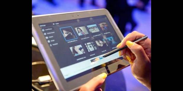 La tablette a la cote - La DH