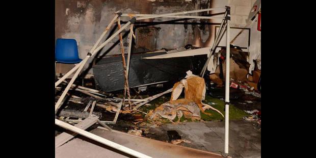La Maison des Jeunes incendiée à Neder-over-Heembeek - La DH
