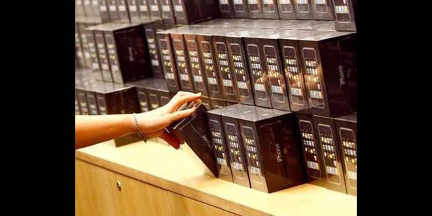 Des milliers d'iPhone 5 dérobés - La DH