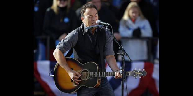 Bruce Springsteen en concert au TW Classic - La DH