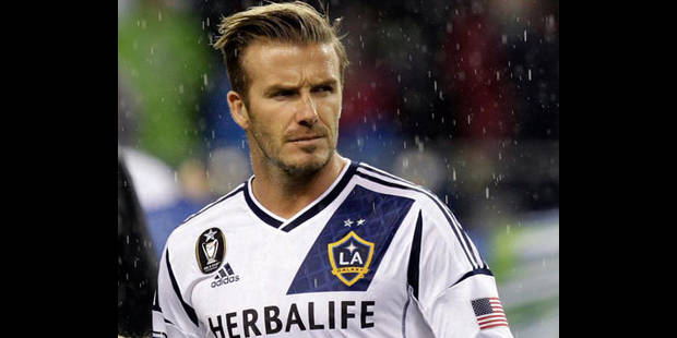 Beckham va jouer son dernier match avec les Los Angeles Galaxy - La DH