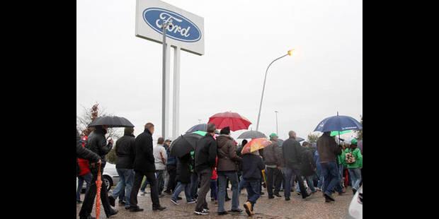 Le travail pourrait reprendre le 13 novembre à Ford Genk - La DH