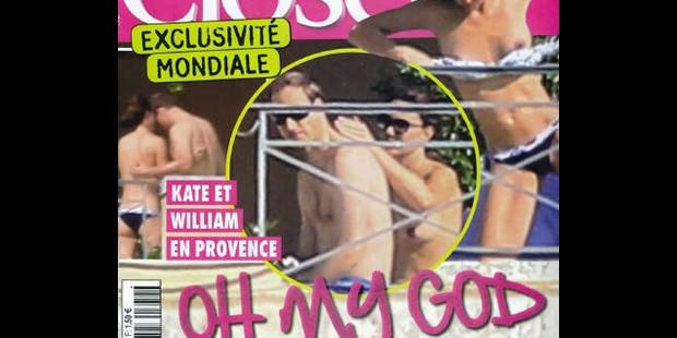 """Kate seins nus: """"la ligne rouge a été franchie"""" - La DH"""