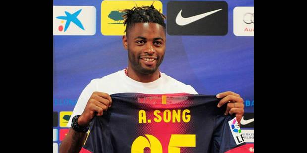 """Song """"heureux"""" de jouer dans """"le meilleur club du monde"""" - La DH"""