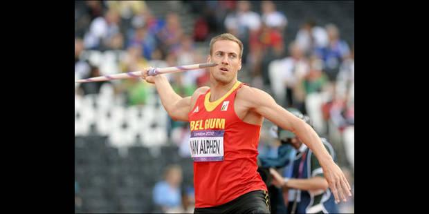 Les Belges aux Jeux: pas de podium pour Van Alphen qui finit 4e - La DH