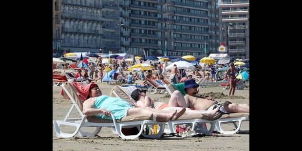 Les plages,  victimes  de la météo - La DH