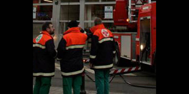 Plan catastrophe déclenché pour un incendie dans un immeuble - La DH
