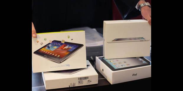 Guerre des tablettes: demi-succès d'Apple contre Samsung - La DH