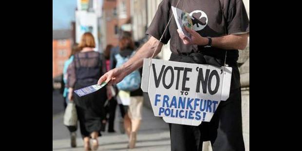 Pacte européen: les Irlandais aux urnes - La DH