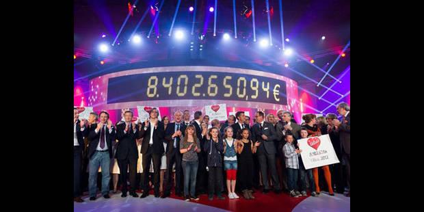 Avec 8.402.651 euros, le record a été battu ! - La DH