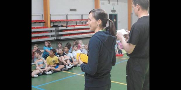Kim Gevaert  en baskets  à Luttre - La DH