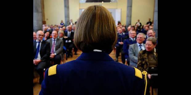 La nouvelle commissaire générale de la police fédérale a prêté serment - La DH