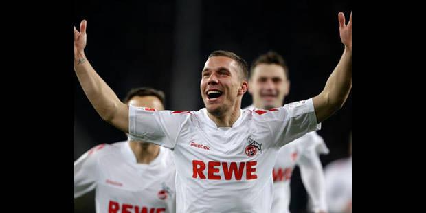 Podolski en route vers Arsenal - La DH