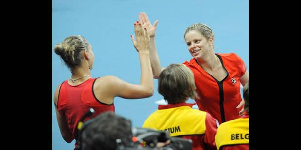 Kim Clijsters forfait pour la Fed Cup - La DH