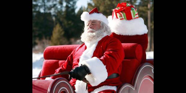 """Le Père Noël : """"Allez les Rouge et Blanc !"""" - La DH"""