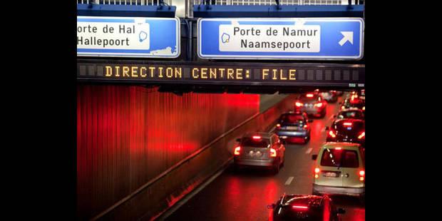 Grève: le chaos sur les routes a été évité à Bruxelles - La DH
