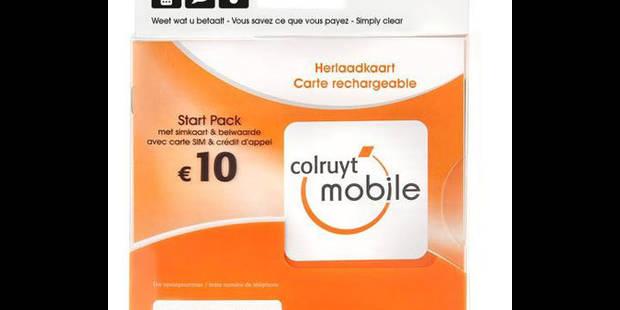 Colruyt, le moins cher aussi sur son? GSM - La DH