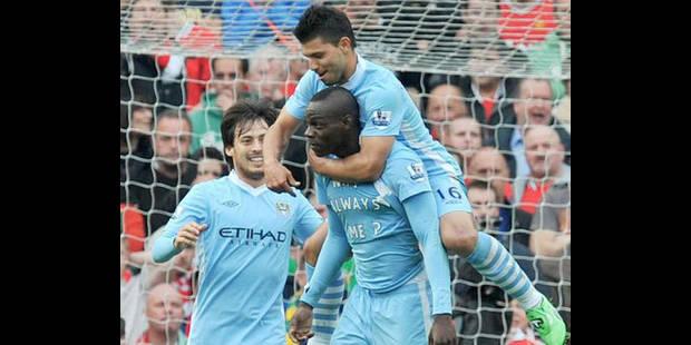 Manchester City remporte son premier set contre United (1-6) - La DH
