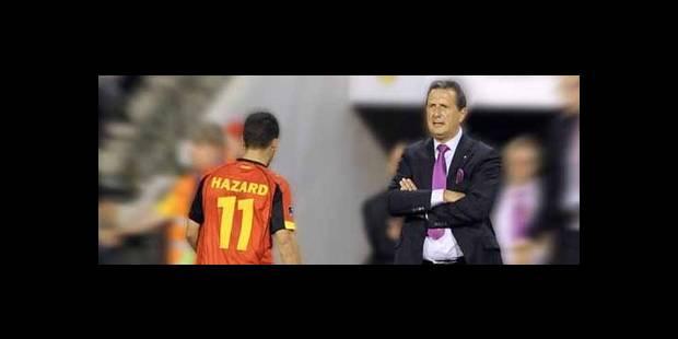 Slovénie - Belgique: pas de Hazard, Leekens le sanctionne - La DH