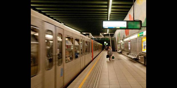 La circulation du métro rétablie à Bruxelles - La DH
