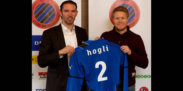 Tom Hogli signe pour trois saisons au FC Bruges - La DH