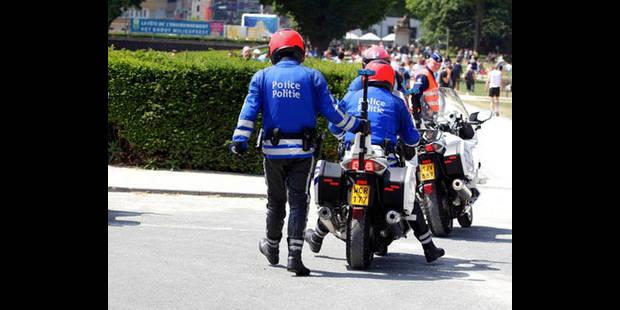 La police de Bruxelles-Ouest met l'accent sur la sécurité routière au quotidien - La DH