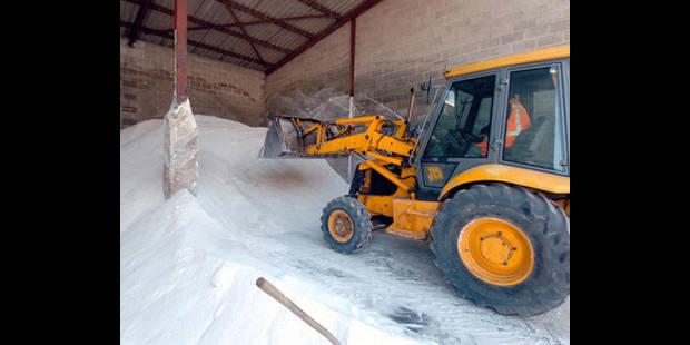 Plus de 40 millions pour le salage et le déneigement en Wallonie cet hiver - La DH