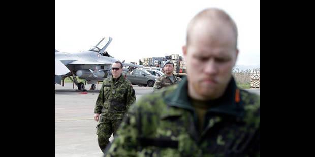 Les F-16 belges ont à nouveau tiré - La DH