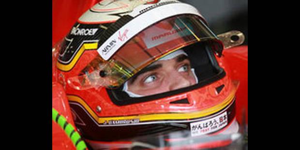 """Jérôme D'Ambrosio: """"Très heureux d'avoir fini mon 1er GP"""" - La DH"""