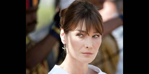 Carla Bruni-Sarkozy a porté plainte pour contrefaçon contre un journal - La DH