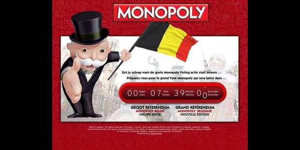 Monopoly redéfinit la Belgique - La DH