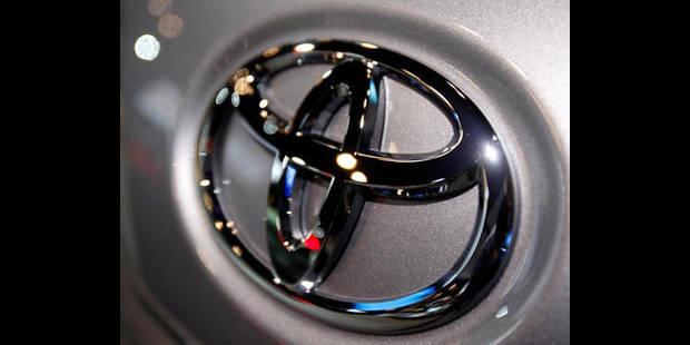 Toyota rappelle 421.000 voitures, dont 1.000 en Belgique - La DH