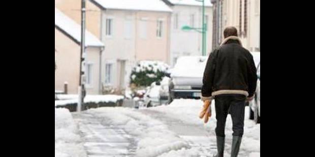 La neige provoque quelques embarras de circulation en Communauté germanophone - La DH