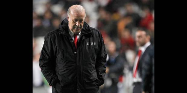 Del Bosque estime être le principal coupable des dernières défaites espagnoles - La DH