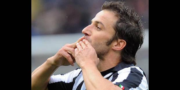 Italie - Del Piero dépasse Boniperti avec 179 buts en Serie A pour la Juve - La DH