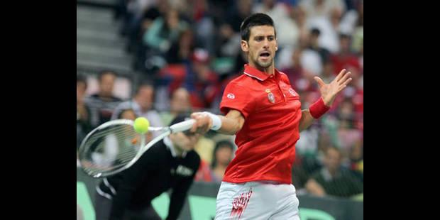 La Serbie choisit une surface dure pour affronter la France en finale de la Coupe Davis - La DH