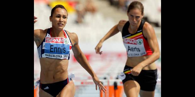 Euro - Heptathlon - Sara Aerts 8e après 2 épreuves - La DH