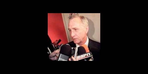 Cruyff critique les Pays-Bas - La DH