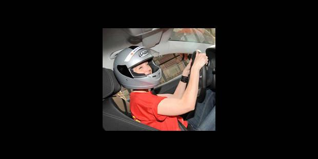 Nathalie Maleux pilote de course - La DH