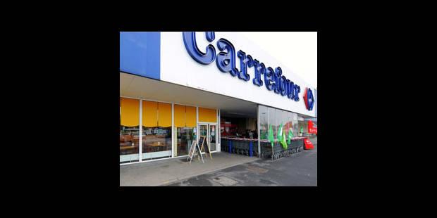 Carrefour: syndicats et direction sont arrivés à un projet de protocole d'accord - La DH