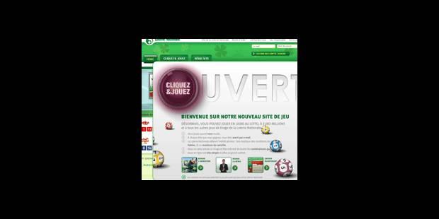 La Loterie Nationale lance son site Internet - La DH