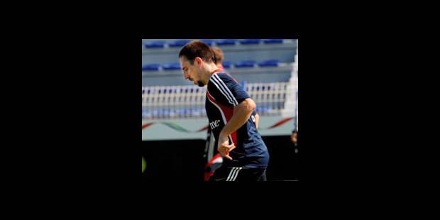 Ribéry ne sera pas titulaire contre Brême - La DH