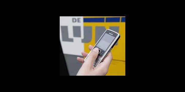 Des tickets De Lijn par sms - La DH