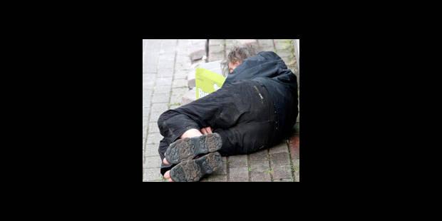 100 sans-abri cet hiver à la rue - La DH